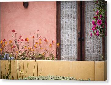 Canvas Print featuring the photograph Venice Pink by Kevin Bergen