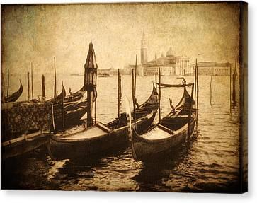 Venice Postcard Canvas Print by Jessica Jenney