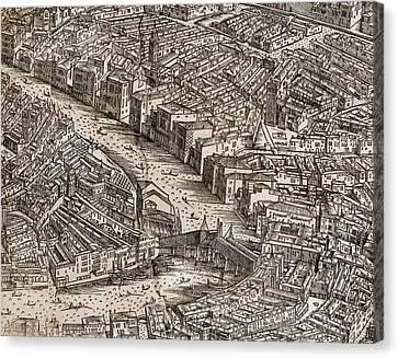 Venice: Rialto Bridge Canvas Print by Granger