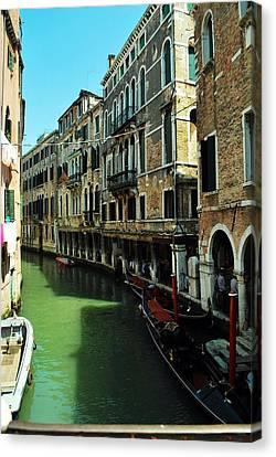 Venice River Canvas Print
