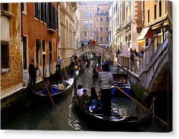 Venice Canvas Print by Ron Harpham
