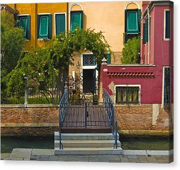 Venice Steps Canvas Print by Francois Girard