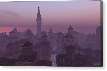 Venice Twilight Canvas Print