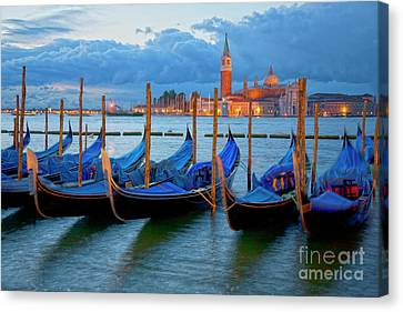 Venice View To San Giorgio Maggiore Canvas Print