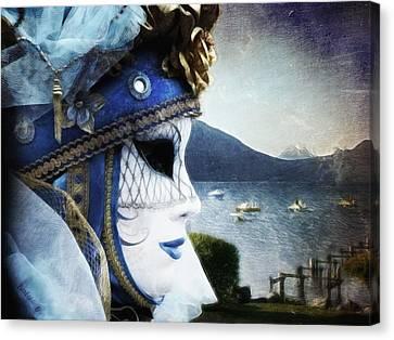 Venitian Carnival - La Dame Du Lac Canvas Print