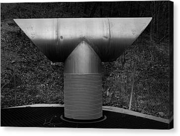 Vent Pipe Canvas Print by Bud Simpson