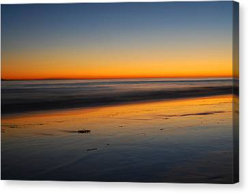 Ventura Beach Evening Canvas Print by Catherine Lau