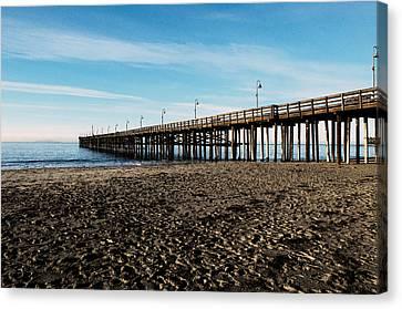 Ventura Beach Pier Canvas Print