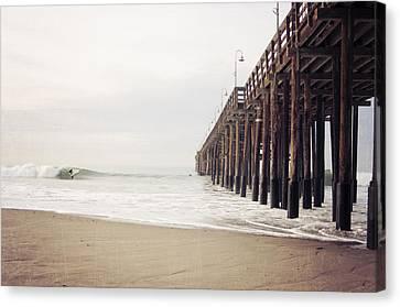Ventura California Pier  Canvas Print by Bree Madden