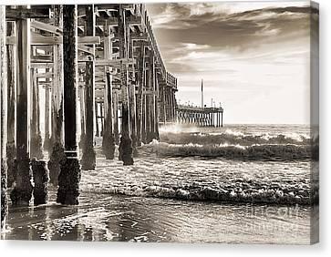 Ventura Pier Study I Canvas Print