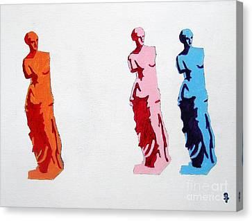 Venus De Milo Statue Canvas Print by Venus