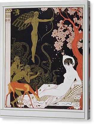 Venus Canvas Print by Georges Barbier