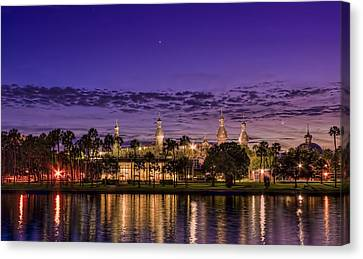 Venus Over The Minarets Canvas Print
