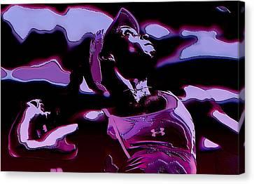 Venus Williams Queen V Canvas Print by Brian Reaves