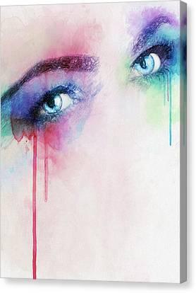 Vera Canvas Print by Taylan Apukovska