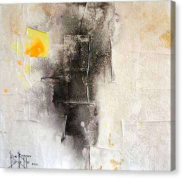 Canvas Print featuring the painting Veracity by Ron Richard Baviello