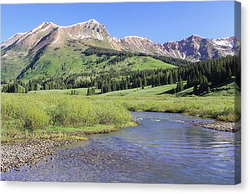 Verdant Valley Canvas Print