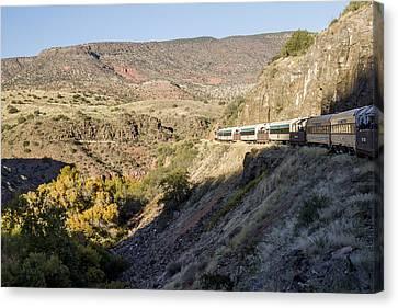 Verde Canyon Railway Landscape 2 Canvas Print