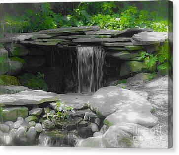 Verde Falls Canvas Print