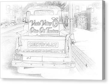 Verde Valley Olive Oil Arizona Canvas Print by Janice Rae Pariza