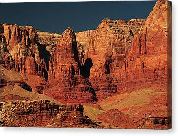 Cliff Lee Canvas Print - Vermilion Cliffs In The Morning, Lee's by Michel Hersen