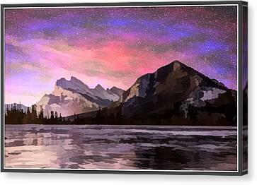 Vermilion Photo Art Canvas Print