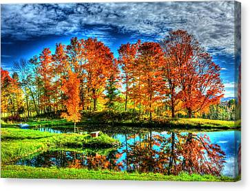Vermont Colors Canvas Print