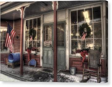 Vermont Country Store Canvas Print by Joann Vitali