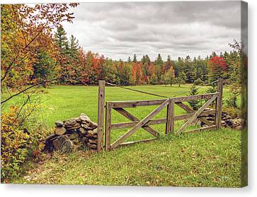 Vermont Countryside Canvas Print