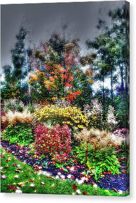 Vermont Fall Garden Canvas Print