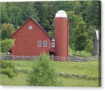 Vermont Farm Canvas Print by Catherine Gagne