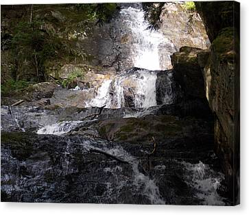 Vermont Waterfall Canvas Print by Catherine Gagne