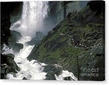 Vernal Falls And Path To The Top Canvas Print by Paul W Faust -  Impressions of Light