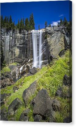 Vernal Falls In July At Yosemite Canvas Print
