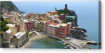 Vernazza Canvas Print