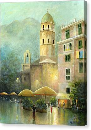 Vernazza Italy Canvas Print by Cecilia Brendel