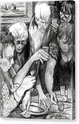 Vernisage Canvas Print by Mikhail Savchenko