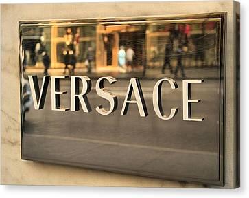 Branding Canvas Print - Versace by Dan Sproul