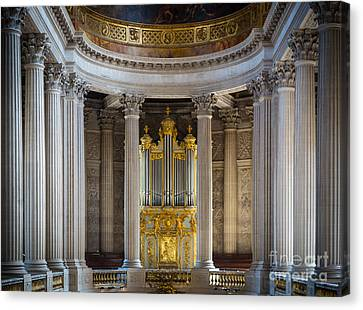 Versailles Organ Canvas Print by Inge Johnsson