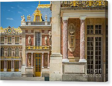 Europa Canvas Print - Versailles Splendor by Inge Johnsson