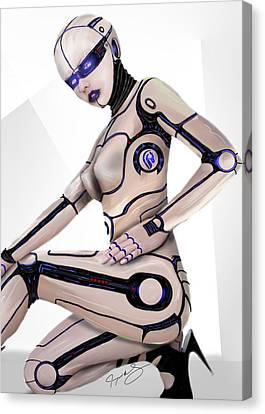 Future Tech Canvas Print - Version 2.0 by Jeremy Martinson