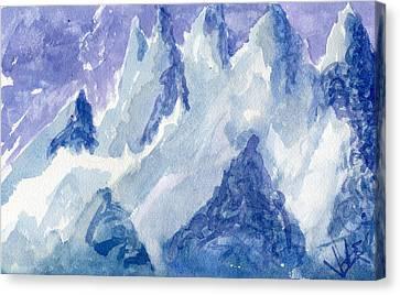 Vertical Horizons Canvas Print