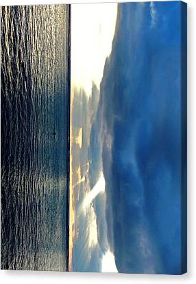 Vertical Wall 4 Canvas Print