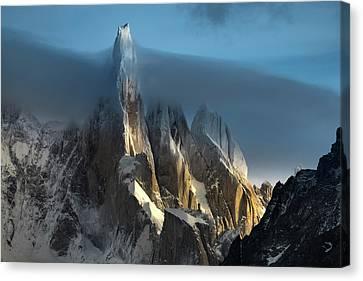 Frost Tower Canvas Print - Vertigo by Andrew Waddington