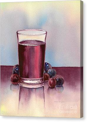 Very  Berry Canvas Print by Nan Wright