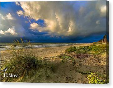 Very Cloudy Canvas Print by Janet Moss