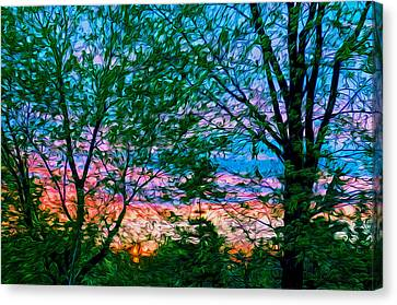 Very Early In The Morning Canvas Print