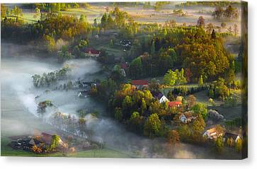 Very Early Spring Canvas Print