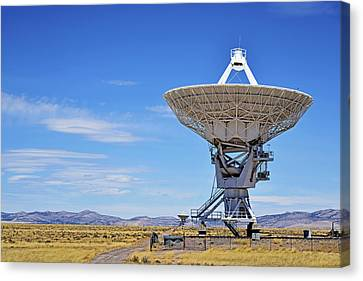 Terrestrial Canvas Print - Very Large Array - Vla - Radio Telescopes by Christine Till