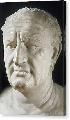 Vespasian, Titus Flavius Vespanius Canvas Print by Everett